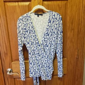 Boden Size 12 (or 10) True Wrap Top